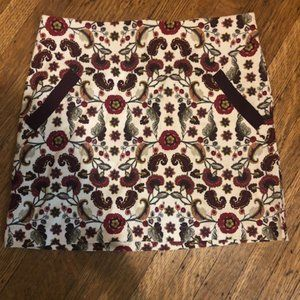 Paisley / floral skirt